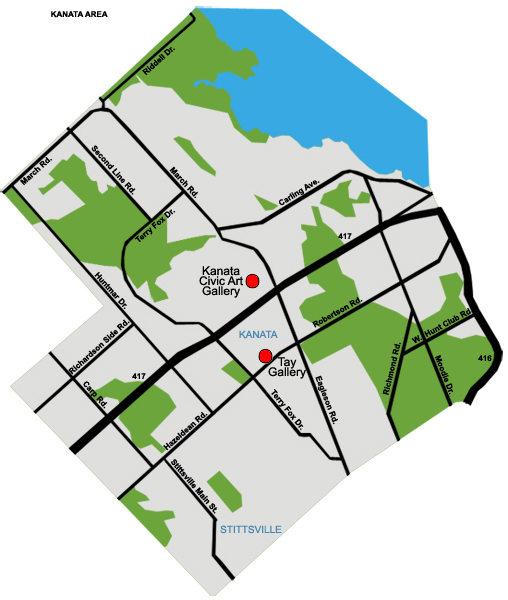 Map of Kanata galleries